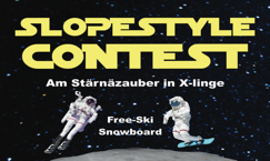Slopestyle Contest am Sternenzauber