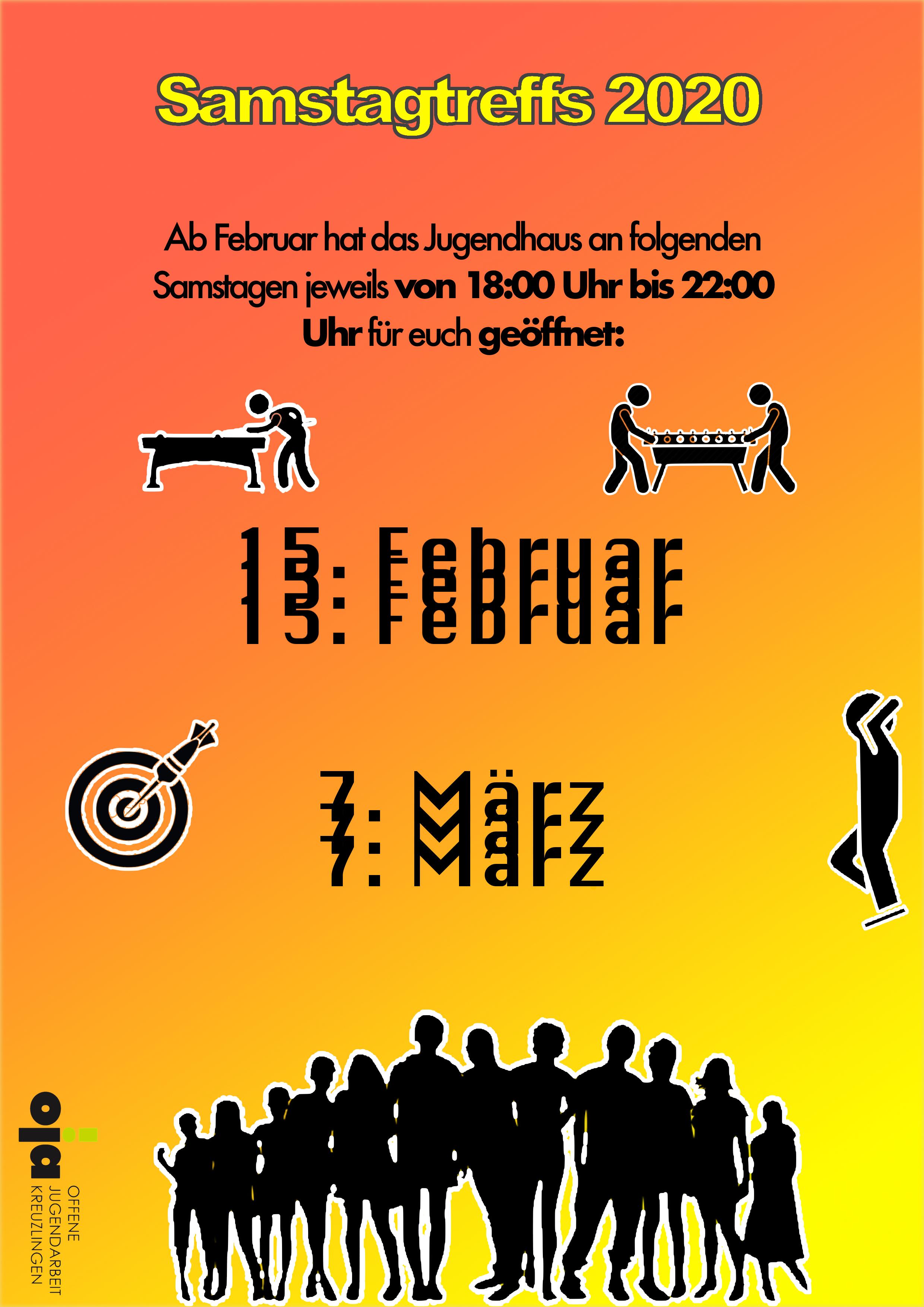 Samstagtreff 15.02.20
